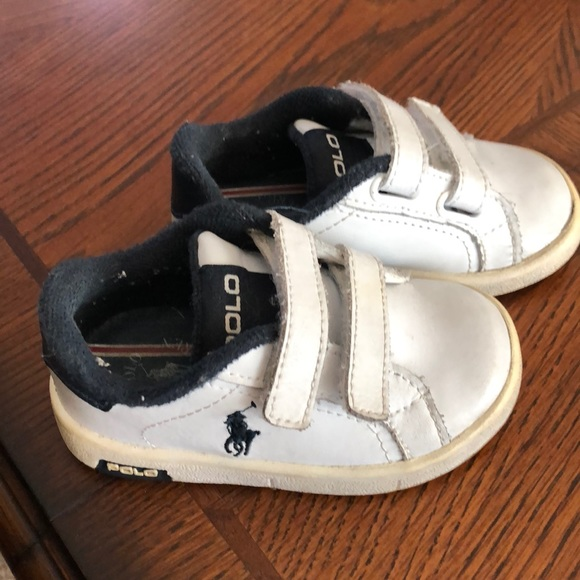 newest 4a764 737e3 Polo Ralph Lauren boys baby sneaker